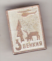 USSR Russia Old  Pin Badge- Regions - Evenkia - Ohne Zuordnung
