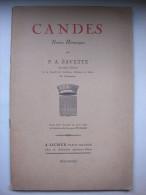 Candes (49) - Notice Historique - P.A.Savette - Centre - Val De Loire