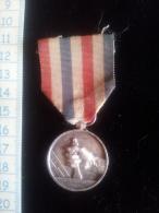 Médaille, Jeton Argent  Des Cheminots 1943 - Professionnels / De Société