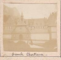 AS- 2 Photos Stereoscopiques 40x45mm Vers 1900. Aix Les Bains, France -etablissement Thermal -grande Chartreuse - Photos Stéréoscopiques