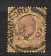 Engeland United Kingdom, Great Britain, Angleterre, Bretagne, King Edward VII, SG 232, Y&T 111 Used CANCEL RADFORD - 1902-1951 (Re)
