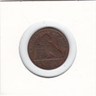 2 CENTIMES Cuivre Léopold II 1870 FR - 02. 2 Centesimi