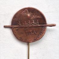 Badge Pin ZN000313 - Rowing / Kayak / Canoe Yugoslavia Bled European Championships FISA 1956 - Roeisport