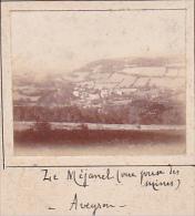 BG- 2 Photos Stereoscopiques 40x45mm Vers 1900. France Aveyron -Vallée Méjanel à Recoules -vue Prise Mines - Photos Stéréoscopiques