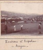 BH- 2 Photos Stereoscopiques 40x45mm Vers 1900. France Aveyron - Environs Loguial ? Laguiole - Montagne Espalion Vache - Photos Stéréoscopiques