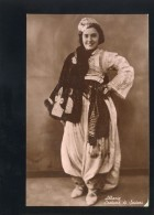 ALBANIA ALBANIEN OLD POSTCARD #140 NATIONAL COSTUME SCUTARI - Albanien