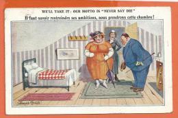 FEL265, Il Faut Savoir Restreindre Ses Ambitions, Nous Prendrons Cette Chambre !, Circulée 1923 - Humour