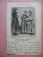 CP GRUSS AUS DEMMUNSTERTHAL  MEINSCH ANNA BARB D HUSAREMEI HIROTH MET HANSJOBS SCHANG - ECRITE EN 1905 - Munster