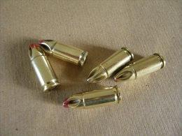 5 Cartouches 9mm à  Blanc En Laiton - Equipement