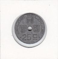 25 CENTIMES  Léopold III 1946 FL/FR - 1945-1951: Régence