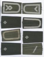 Lot De 8 Manchons D'Epaulette Armée Allemande ( Bundeswehr ) - Uniforms