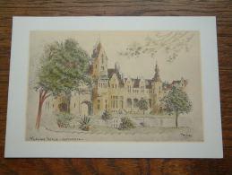 VLAAMS HOFJE - Antwerpen / WENSKAART Dubbel - Anno 19?? ( 17 X 12 Cm. / Zie Foto Voor Details ) !! - Belgique