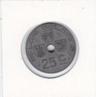 25 CENTIMES  Léopold III 1943 FL/FR - 1934-1945: Leopold III
