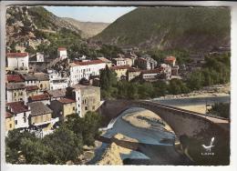 NYONS 26 - Le Pont Et Le Quartier Maladrerie - CPSM Dentelée GF N° 18 (1963) RARE En Colorisée ? (0 Sur Le Site)  Drôme - Nyons