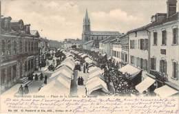 40 - Peyrehorade - Place De La Liberté, Le Marché - Peyrehorade