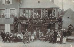41 - Carte Photo Honneur à L'Agriculture, Café Nord (non Situé, Probablement Secteur Lamotte Beuvron) - France