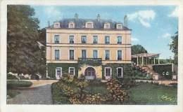 41 - Thésée - Le Château Vau St-Georges, Façade Nord-Ouest (colorisée) - France