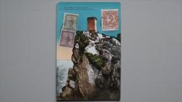 San Marino 32/3 Und 34 Maximumkarte MK/MC, TS 8.12.1923 - Lettres & Documents