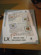 SUPPLEMENT DAVO BELGIQUE 2006 LX 4. - Album & Raccoglitori