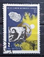 Briefmarke Ungarn Magyar Wetterdienst 1970 - Space