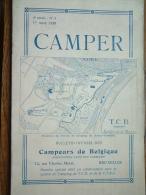 CAMPER 4e Année N° 3 - 1er Mars 1939 / Bulletin Officiel Des Campeurs De Belgique / Kampeerder ( T.C.B. & V.T.K.C. ) ! - Libros, Revistas, Cómics