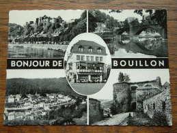 Bonjour De Bouillon ( Patisserie Georges ) Anno 1951 / 61 (?) ( Zie/voir Foto Voor Details ) !! - Bouillon
