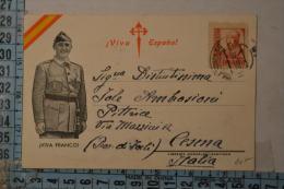 1937  GUERRA DI SPAGNA  Bella Cartolina Viaggiata - Altre Guerre