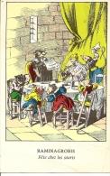 ~    88   ~   RAMINAGROBIS  . Fete Chez Les Souris  . Image D ' épinal  .      Bien Sympa Et Pas Chére  ~ - Epinal