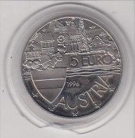 5 EURO 1996  1000 JAHRE OSTARRICHI - Autriche