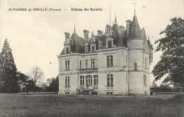 VIENNE -  A253  -saint-pierre-de-maillé- St-pierre-de-maillé - Château Des Escuries    -  Carte Bon état - - Otros Municipios