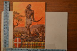1940 Circa V BATTAGLIONE  INDIGENI ERITREA  , BELLISSIMA - Reggimenti