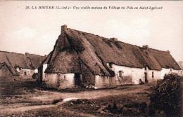 LA BRIERE (L.-Inf.) - Une Vieille Maison Du Village Du Pelo En Saint-Lyphard, 1915? - France