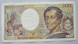 200 Francs 1994   Montesquieu   Alphabet  K.158 - 1962-1997 ''Francs''