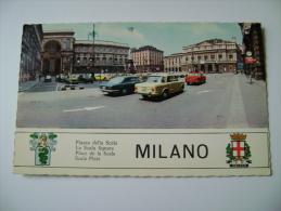 MILANO   AUTO CAR   STEMMA    LOMBARDIA      VIAGGIATA   COME DA FOTO - Milano (Milan)