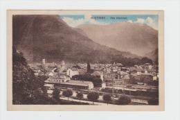 CPA SAVOIE (73) - MOUTIERS - VUE GENERALE - 1930 -  ( LA GARE Chemin De Fer ) - Moutiers