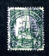 749e SWA 1908 Mi.# 25 Used ~Offers Welcome! - Colony: German South West Africa