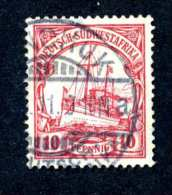 750e SWA 1909 Mi.# 26 Used ~Offers Welcome! - Colony: German South West Africa