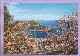 ITALIE - TAORMINA  - Isola Bella E Mandorli In Flore - Messina