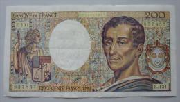 200 Francs 1992   Alphabet  E.131         Montesquieu - 1962-1997 ''Francs''