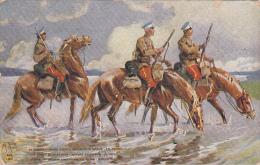 22024 Correspondance A Thomazi Marine Marin Ecrivain Brest Toulon Guerre Militaire -hussard Narva Patrouille Chevaux