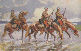 22024 Correspondance A Thomazi Marine Marin Ecrivain Brest Toulon Guerre Militaire -hussard Narva Patrouille Chevaux - Non Classés
