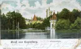 LAXENBURG. Gruss Aus.....Franzensburg. Posted C/fr For TRIESTE 1900. - Laxenburg