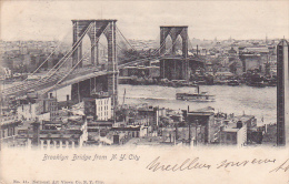 22027 Thomazi - Brooklyn Bridge From N Y City -N) 41 National Art Views- 1904
