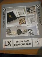 SUPPLEMENT DAVO BELGIQUE 2009 LX 4 . - Album & Raccoglitori