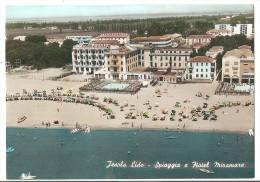 Italie - Italia - Jesolo Lido - La Plage Et L'hotel Miramare - Italia