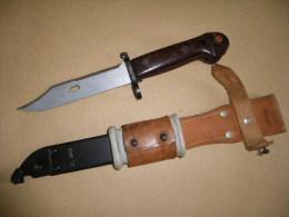 Baïonnette Kalashnikov Roumaine - Armes Blanches
