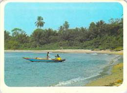 Afrique CAMEROUN KRIBI (pirogue)(Agence Cameroun Hachette / IRIS 8441-cliché Ph. POUX) *PRIX FIXE - Cameroun