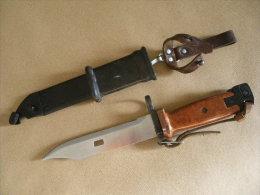 Baïonnette AK 74 Marron - Armes Blanches