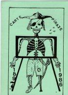 CPM   BRUXELLES   CARTE PIRATE   1897 1986     1 ER SALON NATIONAL TOUTES COLLECTIONS - Bourses & Salons De Collections