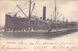 21991 Thomazi -  Vera Cruz Mexique- Paquebot Tucatan - Port  - Sans éditeur - Paquebots